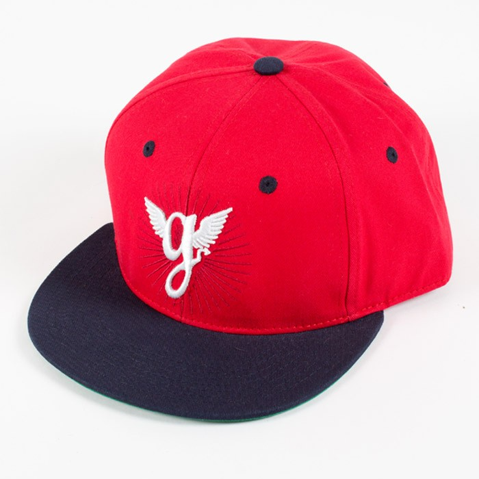 GORRA GRIMEY OLD SCHOOL SNAPBACK SS14 RED