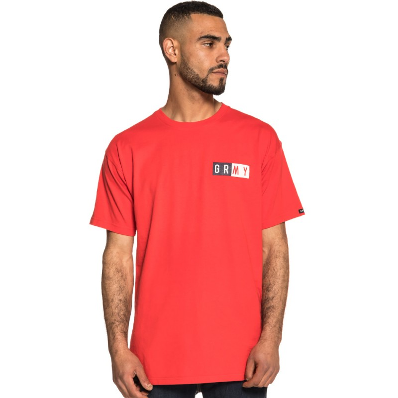 CAMISETA GRIMEY ASHE INFAMOUS TEE SS18 RED