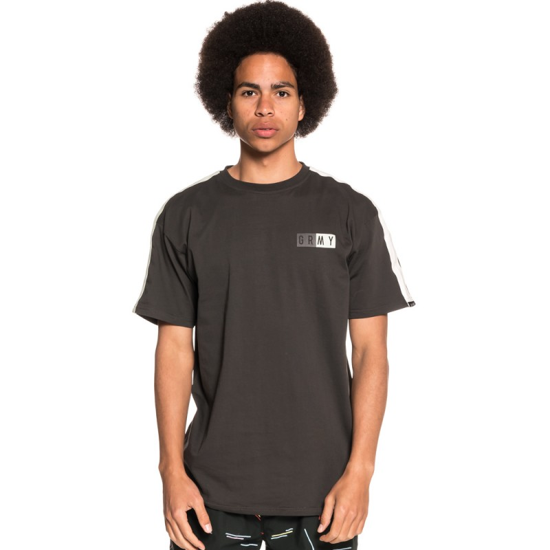 CAMISETA GRIMEY ASHE PIPING TEE SS18 BLACK