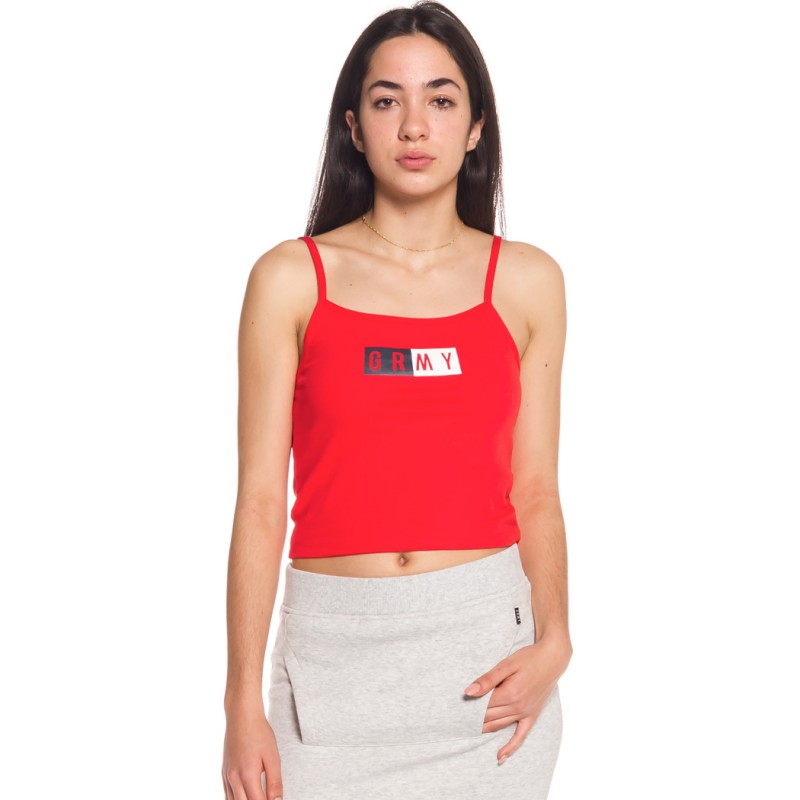CAMISETA GRIMEY CHICA  ASHE TOP SS18 RED