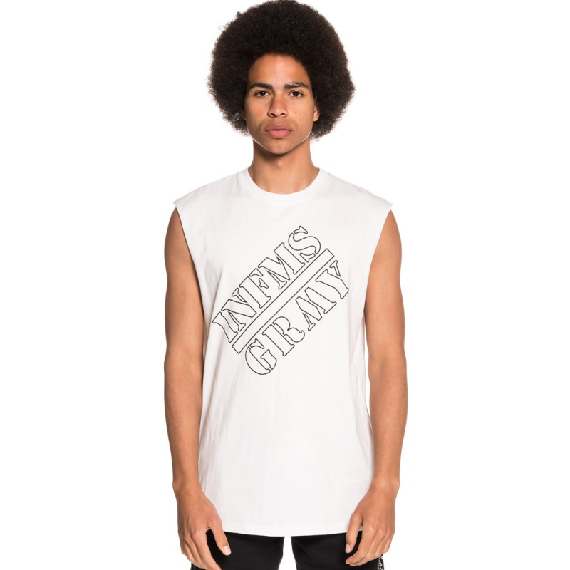 CAMISETA GRIMEY COUNTERATTACK SLEEVELESS TEE SS18 WHITE