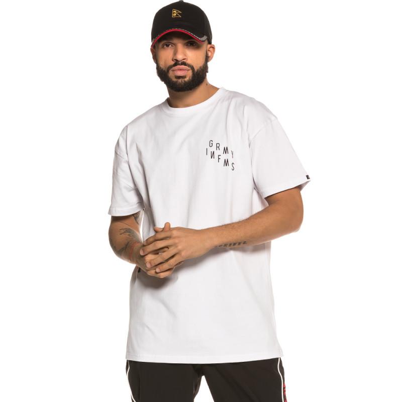 Camiseta Grimey Healing Touch Tee FW18 White