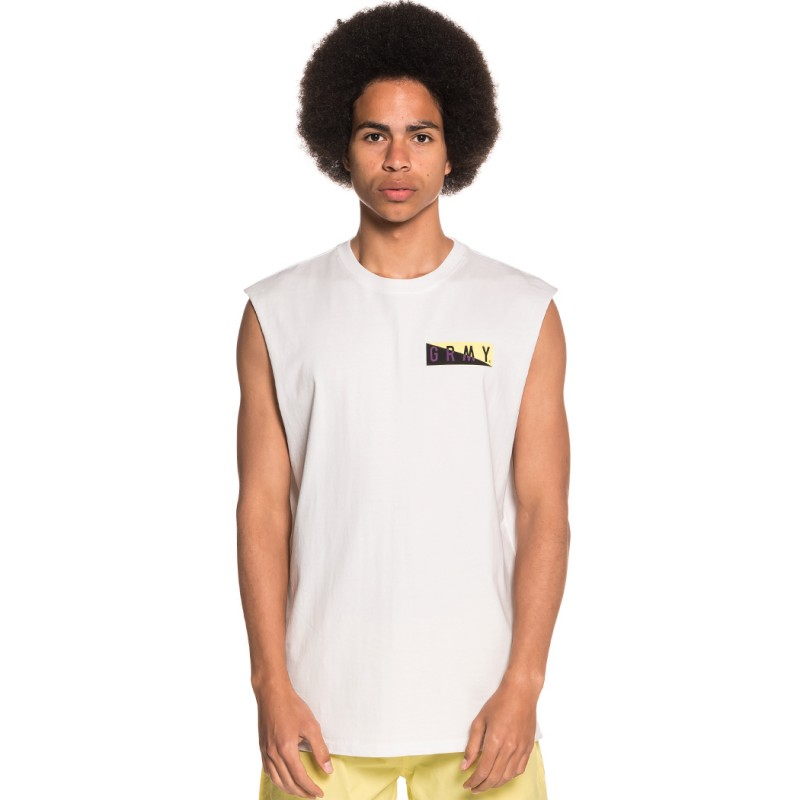 CAMISETA GRIMEY S IN THE C SLEEVELESS TEE SS18 WHITE
