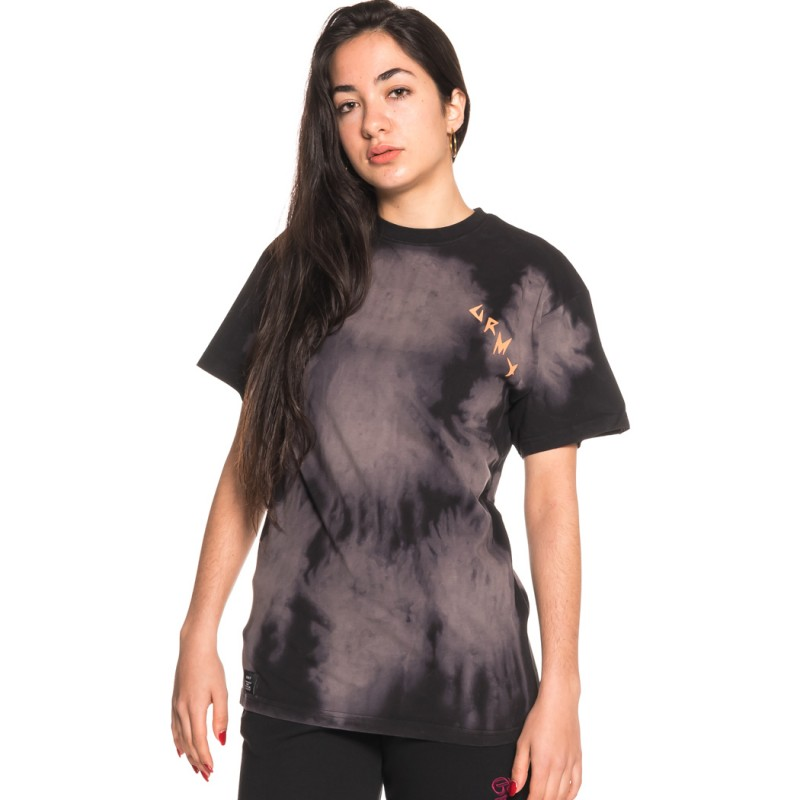 CAMISETA UNISEX GRIMEY EGOCENTRIC BLEACHED TEE SS18 BLACK