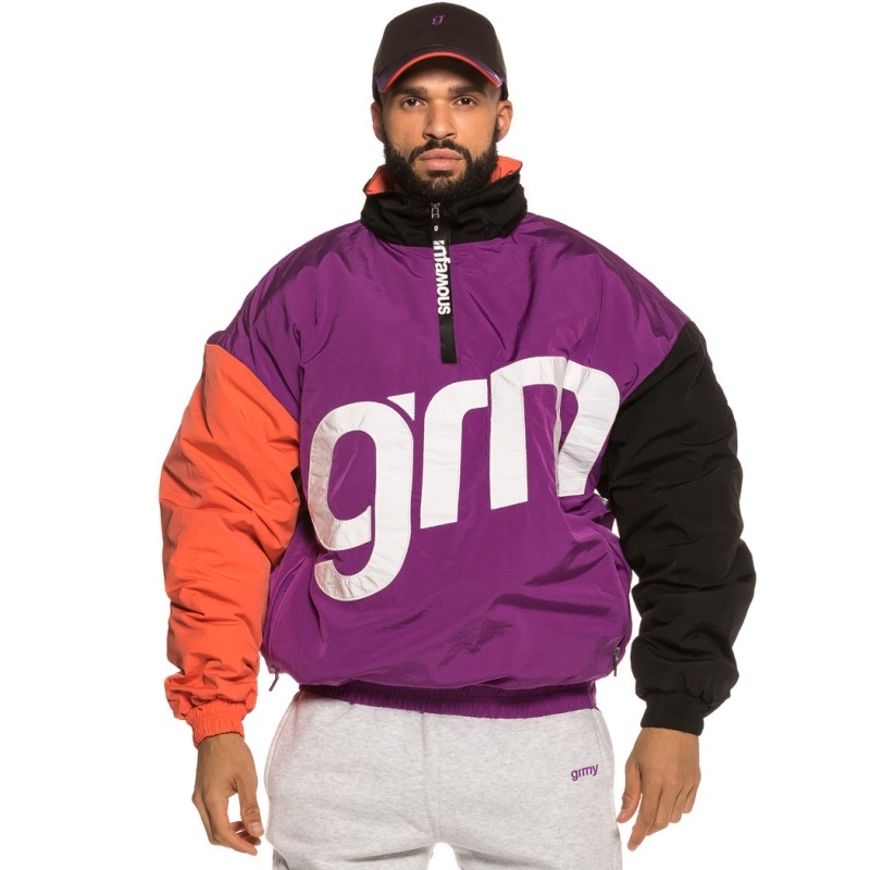 Chaqueta Grimey Flamboyant Pull Over FW18 purple