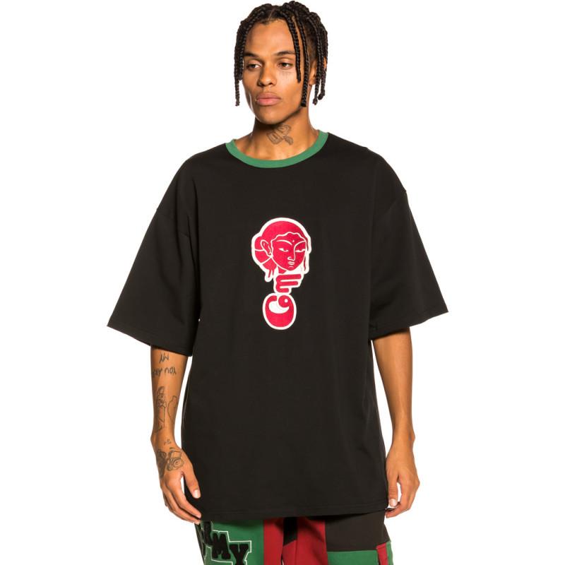 "Camiseta Grimey ""Singgang Junction Heavy Weight"" - Black | Fall 21"