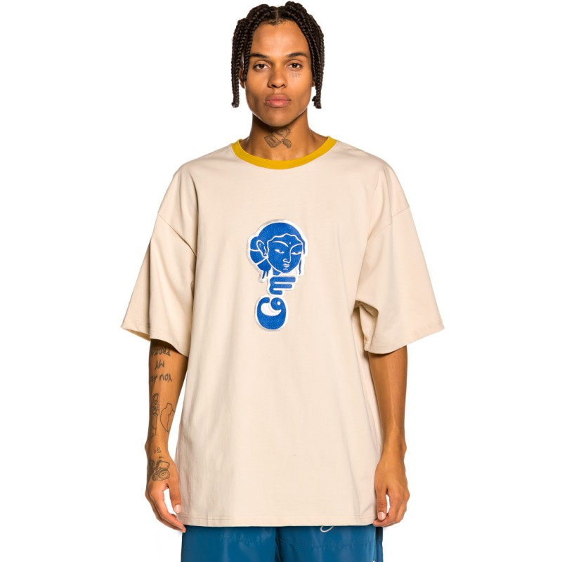 """Camiseta Grimey """"Singgang Junction Heavy Weight"""" - Sand   Fall 21"""