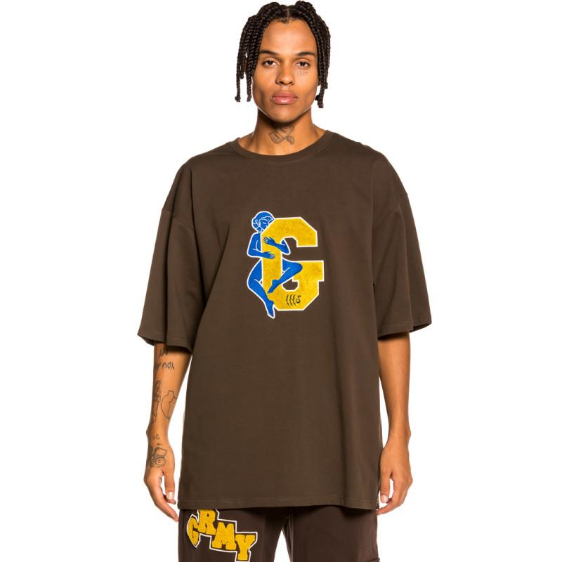 "Camiseta Grimey ""Singgang Junction Love G Heavy Weight"" - Brown   Fall 21"