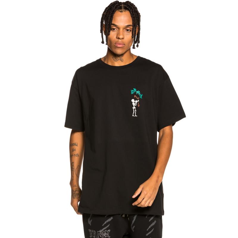 "Camiseta Grimey ""The Throat-Clear"" - Black   Fall 21"