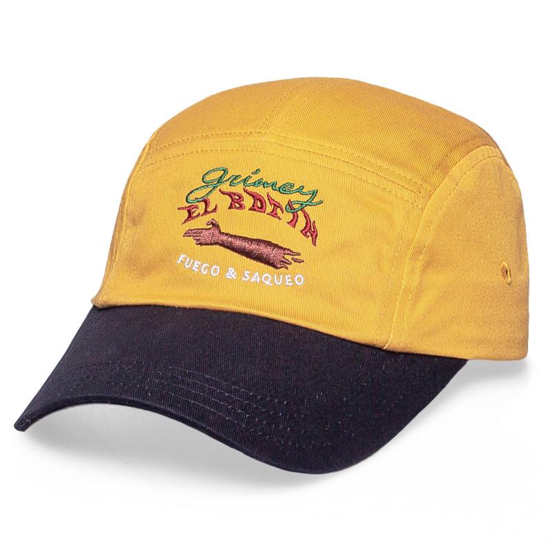 """Gorra Grimey """"The Loot   El Botín"""" 5 Pannel Cap Brown   Spring 21"""