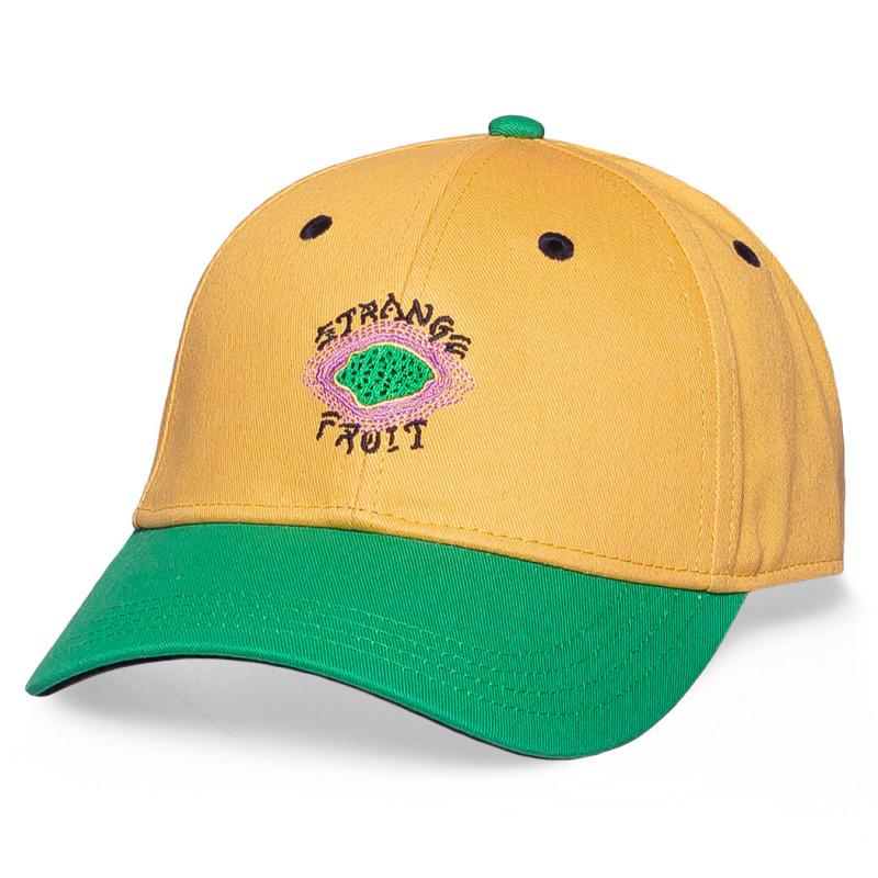 """Gorra Grimey """"Strange Fruit"""" Curved Visor Cap Yellow   Spring 21"""