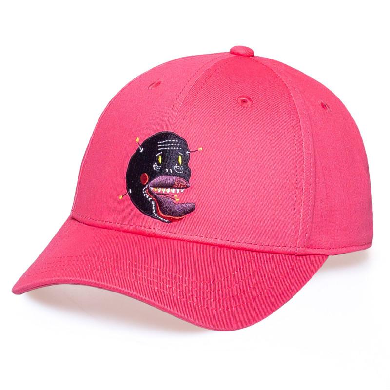 """Gorra Grimey """"Liveution"""" Curved Visor Cap Pink   Spring 21"""