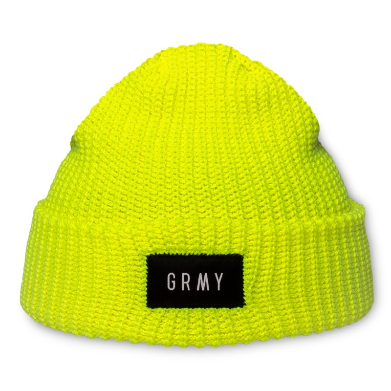 Gorro Grimey Flying Saucer Beanie FW19 Fluor Yellow
