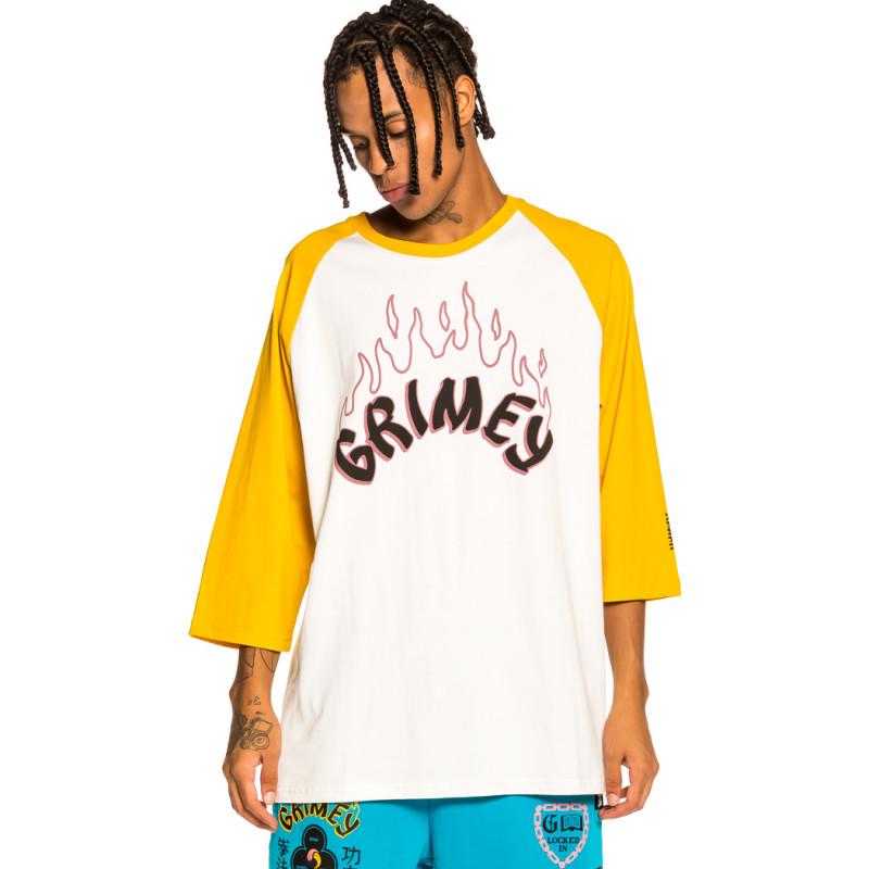 """Camiseta Raglan Grimey """"Destroy All Fear"""" - Yellow   Fall 21"""
