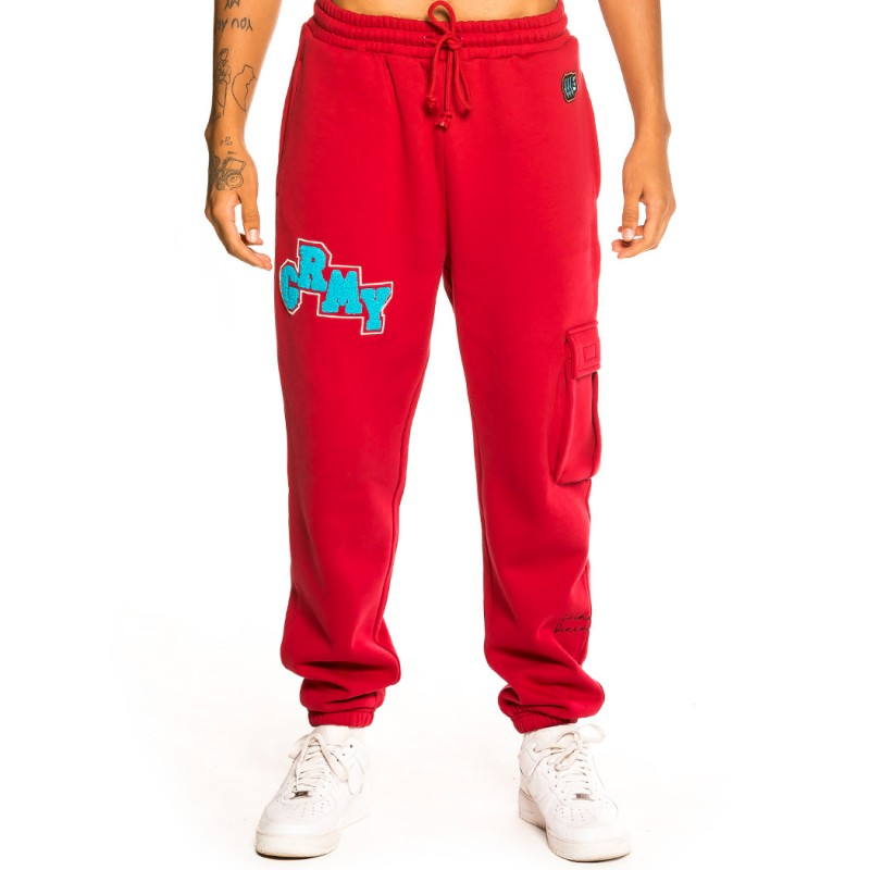 "Pantalón Grimey ""Singgang Junction"" Sweatpants - Red | Fall 21"