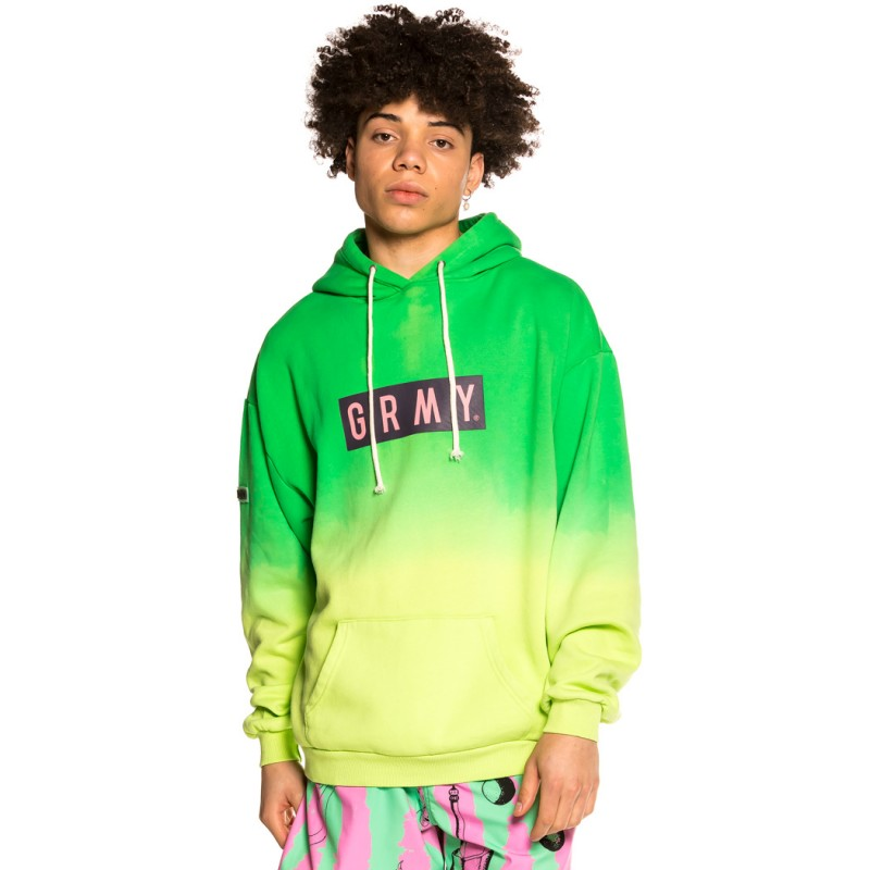 "Sudadera Grimey ""Frenzy"" Hoodie - Green   Summer 21"