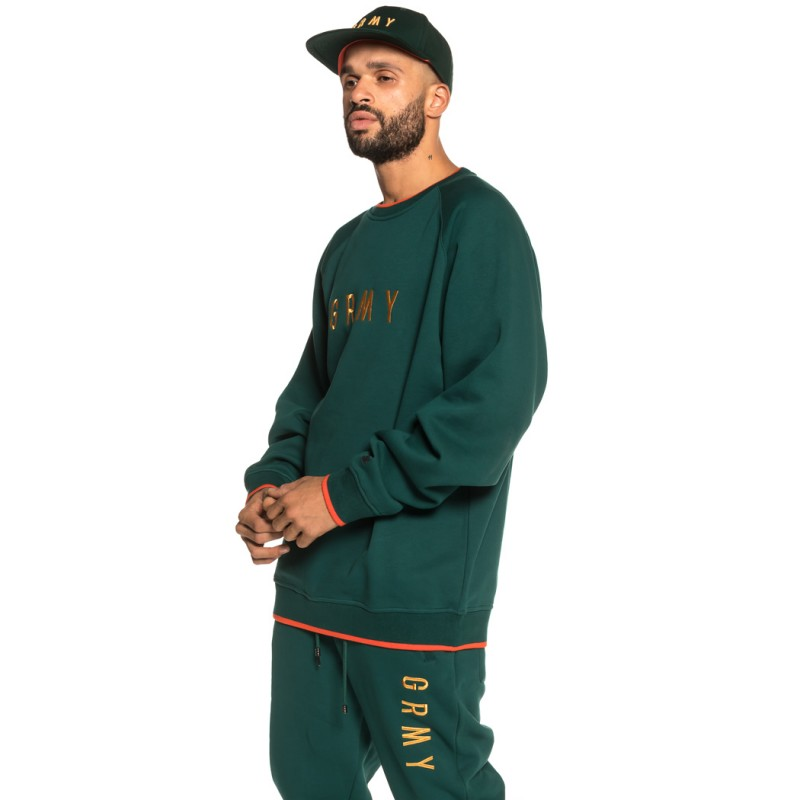 Pack Crewneck + Track Pant GTO Heritage FW18 Green