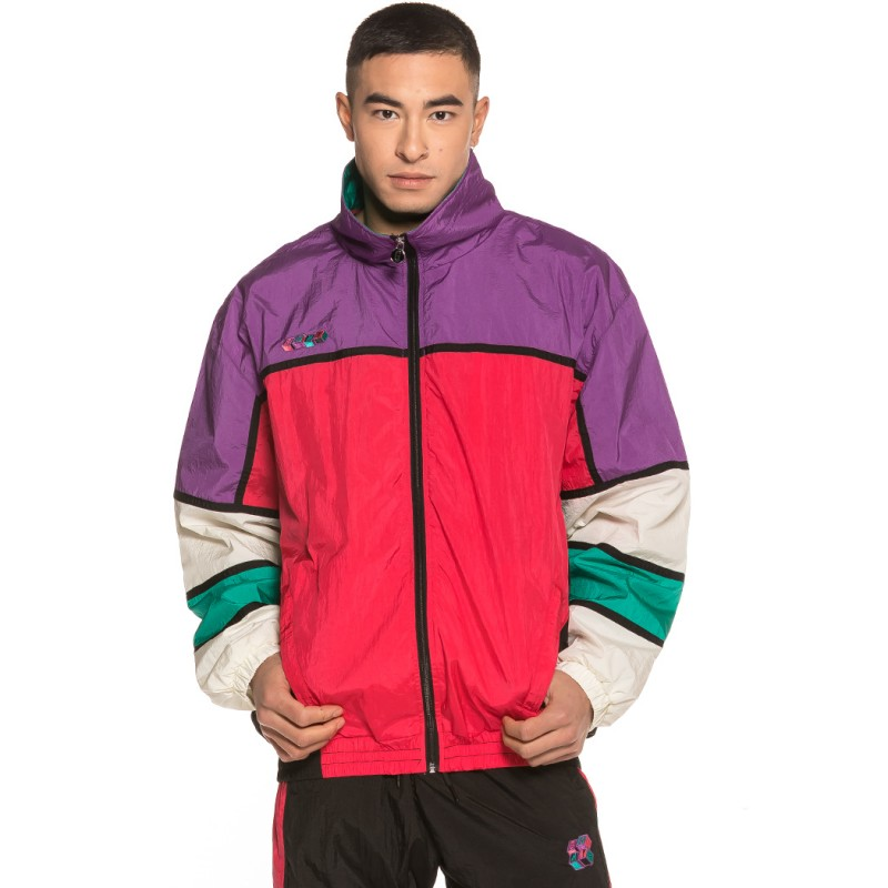 Track Jacket Grimey Brick Top SS19 Purple