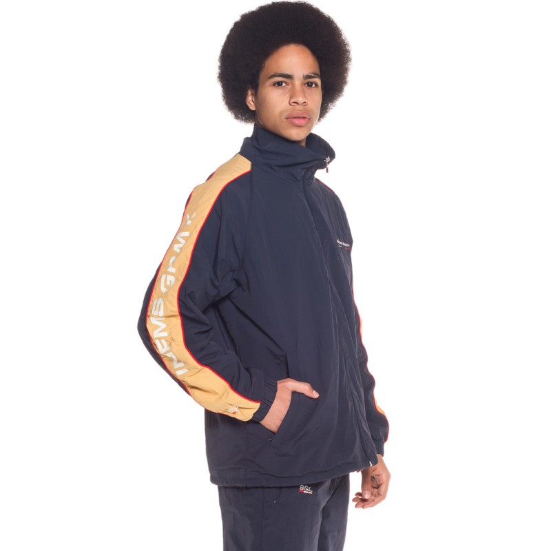 TRACK JACKET GRIMEY COUNTERBLOW SS18 NAVY