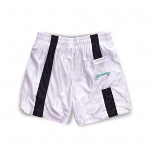 Bermuda Grimey Acknowledge Running Shorts SS20 White