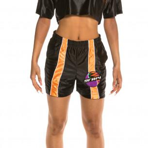 Bermuda Unisex Grimey Acknowledge Running Shorts SS20 Black
