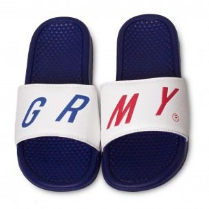 Chanclas Grimey Happy End F.A.L.A. SS19 White