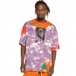 "Camiseta Grimey ""Liveution Magic 4 Resistance"" Tie Dye 