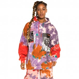 "Sudadera Grimey ""Liveution Magic 4 Resistance"" Hoodie Tie Dye 