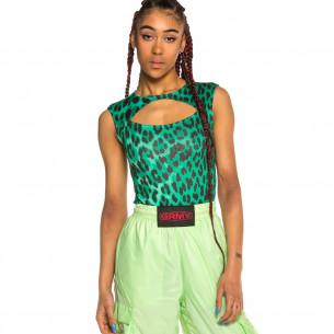Body Grimey Chica Yanga Mesh SS20 Green
