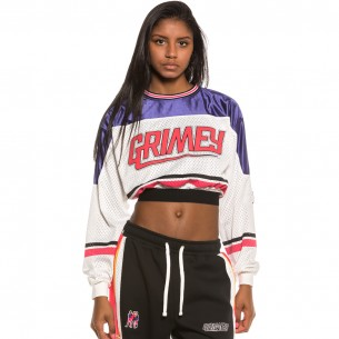Top Grimey Chica Ubiquity Long Sleeve FW20 White
