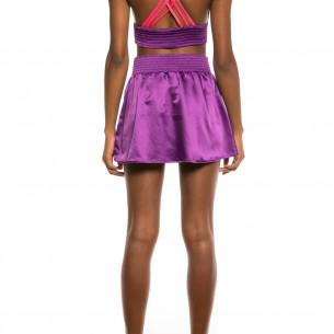 Falda Grimey Yoga Fire Mini skirt FW20 Purple