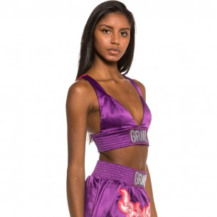 Top Grimey Chica Yoga Fire FW20 Purple