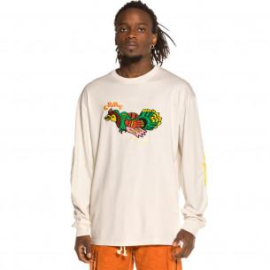 Camiseta manga larga Grimey Liveution LS White   Spring 21
