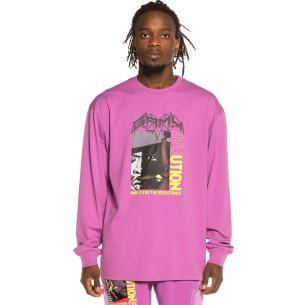 Camiseta manga larga Grimey Liveution Magic 4 Resistance LS Purple | Spring 21