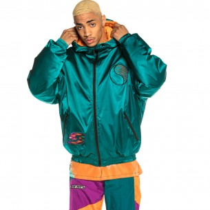 Chaqueta Reversible Grimey Acknowledge SS20 Yellow/Green