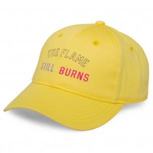 Gorra GrimeyYoga Fire Curved Visor FW20 Yellow