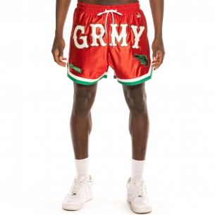 """Bermuda Grimey """"The Loot"""" Red   Spring 21"""
