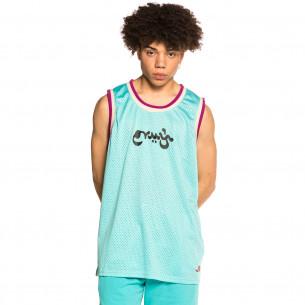 "Camiseta de Tirantes Grimey ""Hope Unseen"" Mesh - Blue | Summer 21"