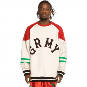 "Sudadera Grimey ""The Loot"" Crewneck White 