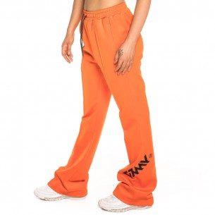 PANTALÓN SMOOTH ECSTASY GIRL FLARED FW18 ORANGE