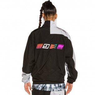 Track Jacket Unisex Grimey Acknowledge SS20 Black