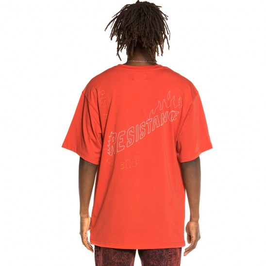 Grimey Liveution Red Tee   Spring 21